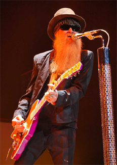 Billy Gibbons  Photo by by David Piacitelli
