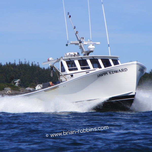 Javin Edward, a Wesmac 42 owned by Harold Poole of Vinalhaven, ME and finished by SW Boatworks in 2013.