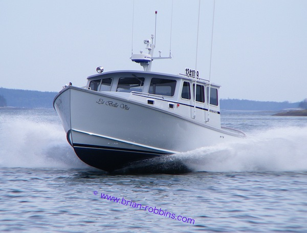 Jeff Eaton of Deer Isle, ME finished the Northern Bay 38 La Bella Vita for himself in 2012.