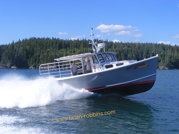 Rattlesnake, an Osmond 42 built by H&H Marine in 2011 for Derek Feeney of Cutler, ME.