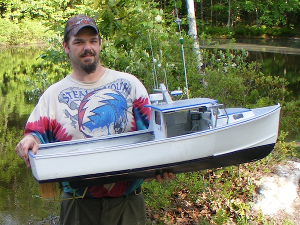 "That's right: what you were looking at is a 48"" radio-controlled model built by Brent Benner of Walpole Model Boatworks in Walpole, ME. Brent will build a replica of your fave boat (even a dragger with working rigging)."