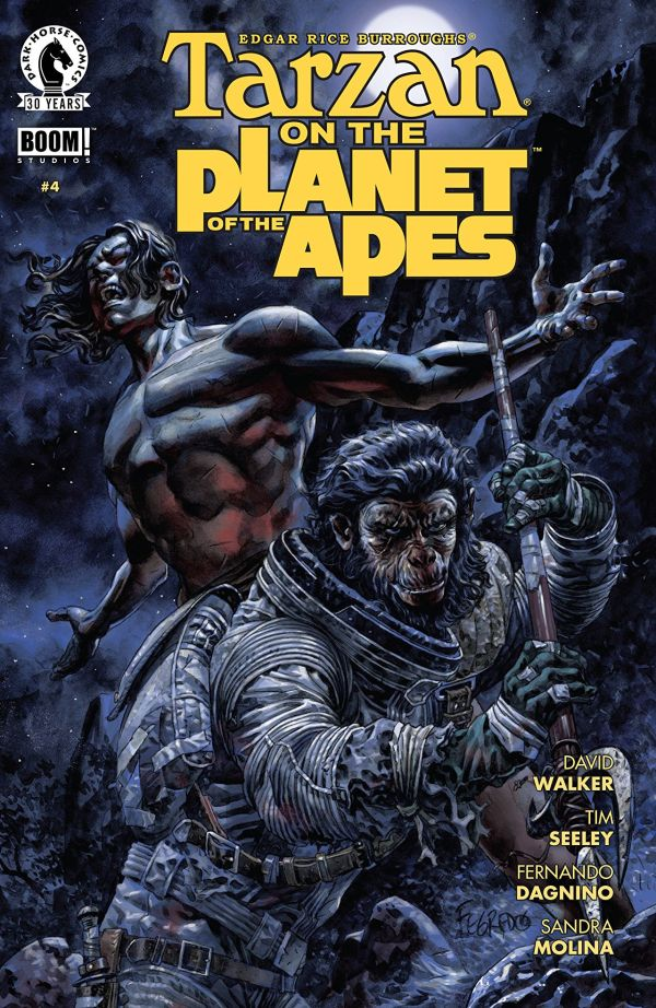 Boom! and Dark Horse Comics' Tarzan on the Planet of the ...