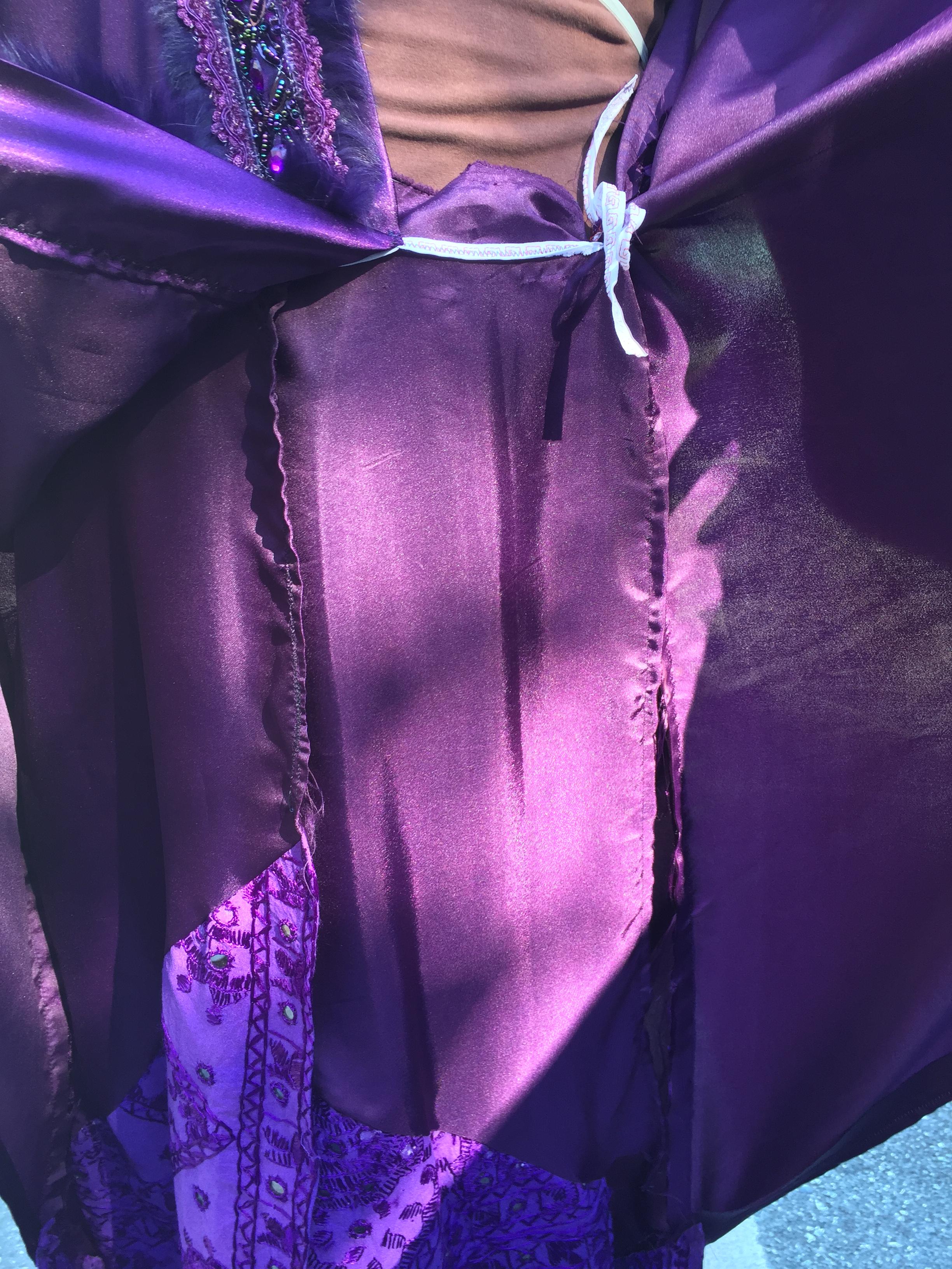 wizard robe inner leaves