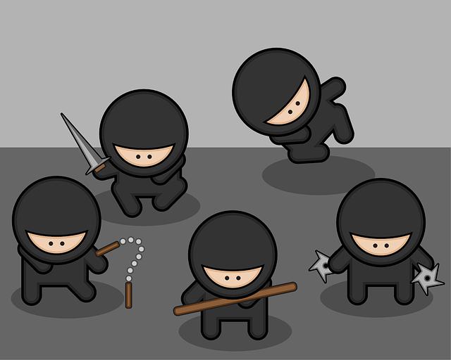 Ninja People - Image: Public Domain, Pixabay