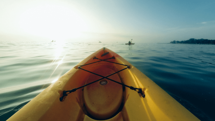 Kayaking is a great form of exercise for addiction recovery