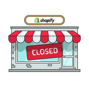 Closed Shopify Store