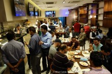 Opening night of the first Sawani Alaker Restaurant