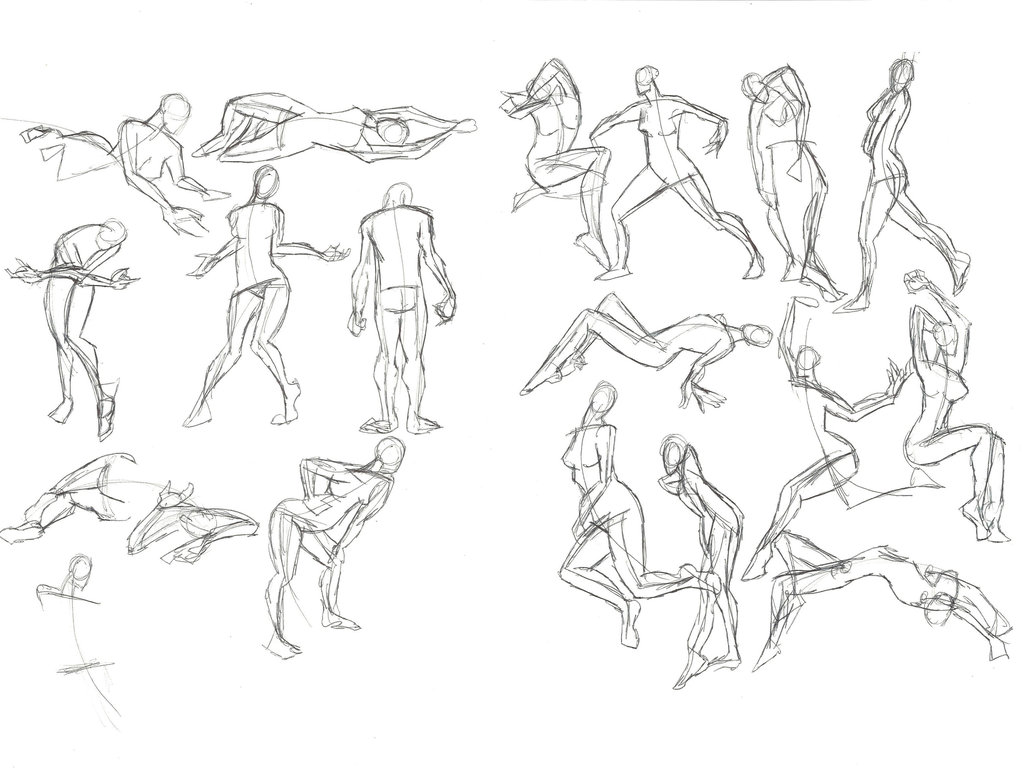 Stick Figure Drawing Brian Cho