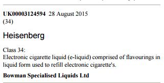 heisenberg e-cigarettes