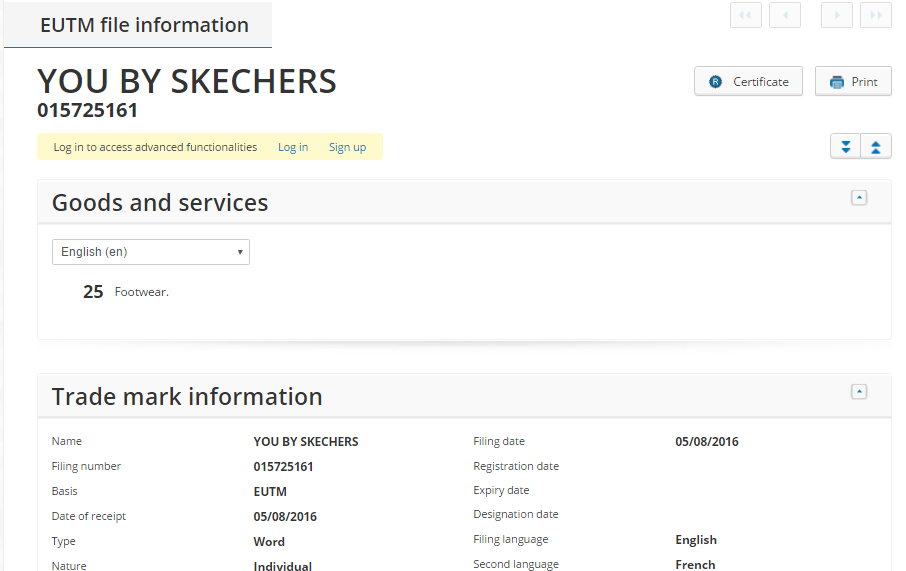 You By Sketchers
