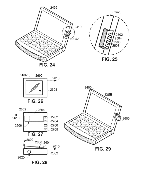 Apple Portable User Device Patent Application