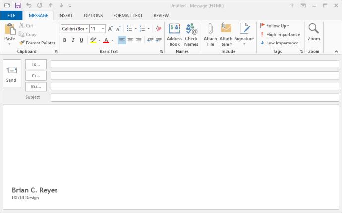 Microsoft Office UI -- Tweaked