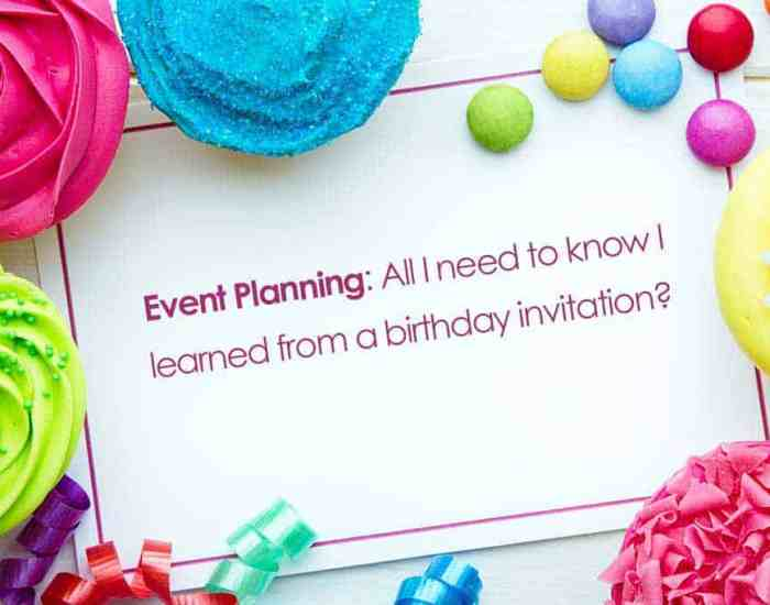 Brian D. Avery provides 5 key meeting and event planning tips