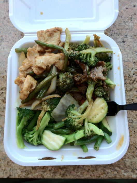 panda express healthier options