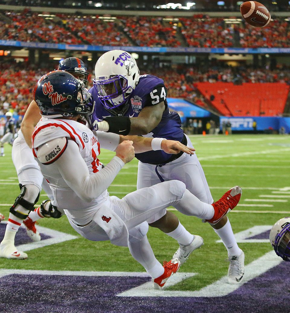 TCU returns 15 starters from a team that went 12-1 and smashed Ole Miss at the Peach Bowl.