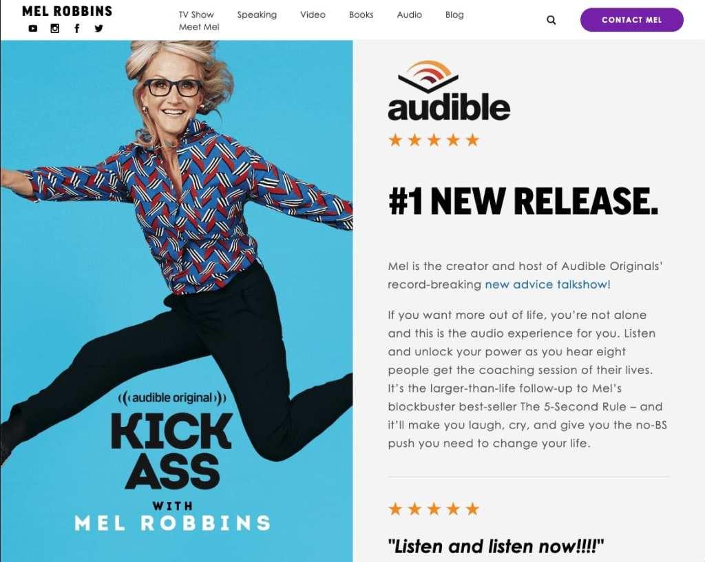 Professional Keynote Speaker Mel Robbins Website