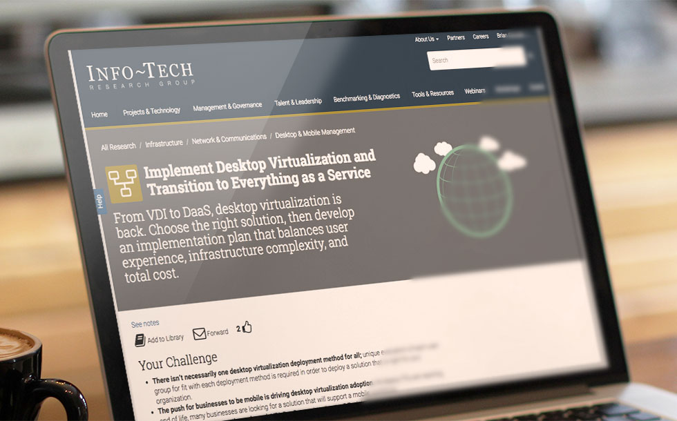 Info-Tech Blueprint