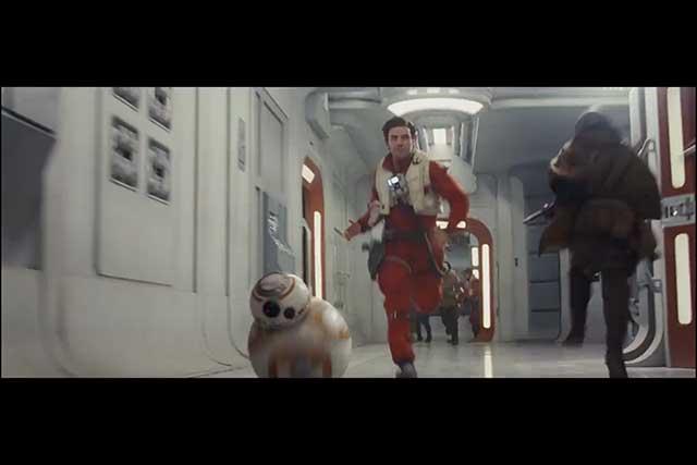 The Last Jedi - Poe BB8