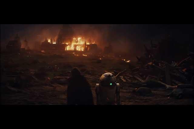 The Last Jedi - Luke and R2