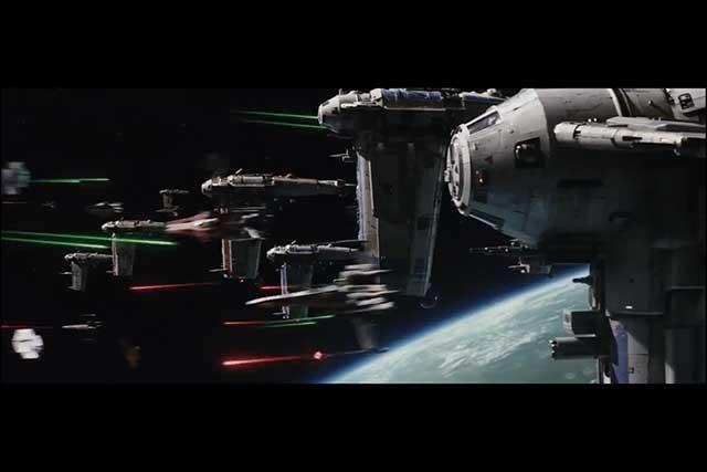 The Last Jedi - Capital Fight
