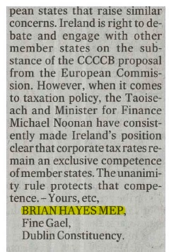 050417 Irish Times Letter Pg2