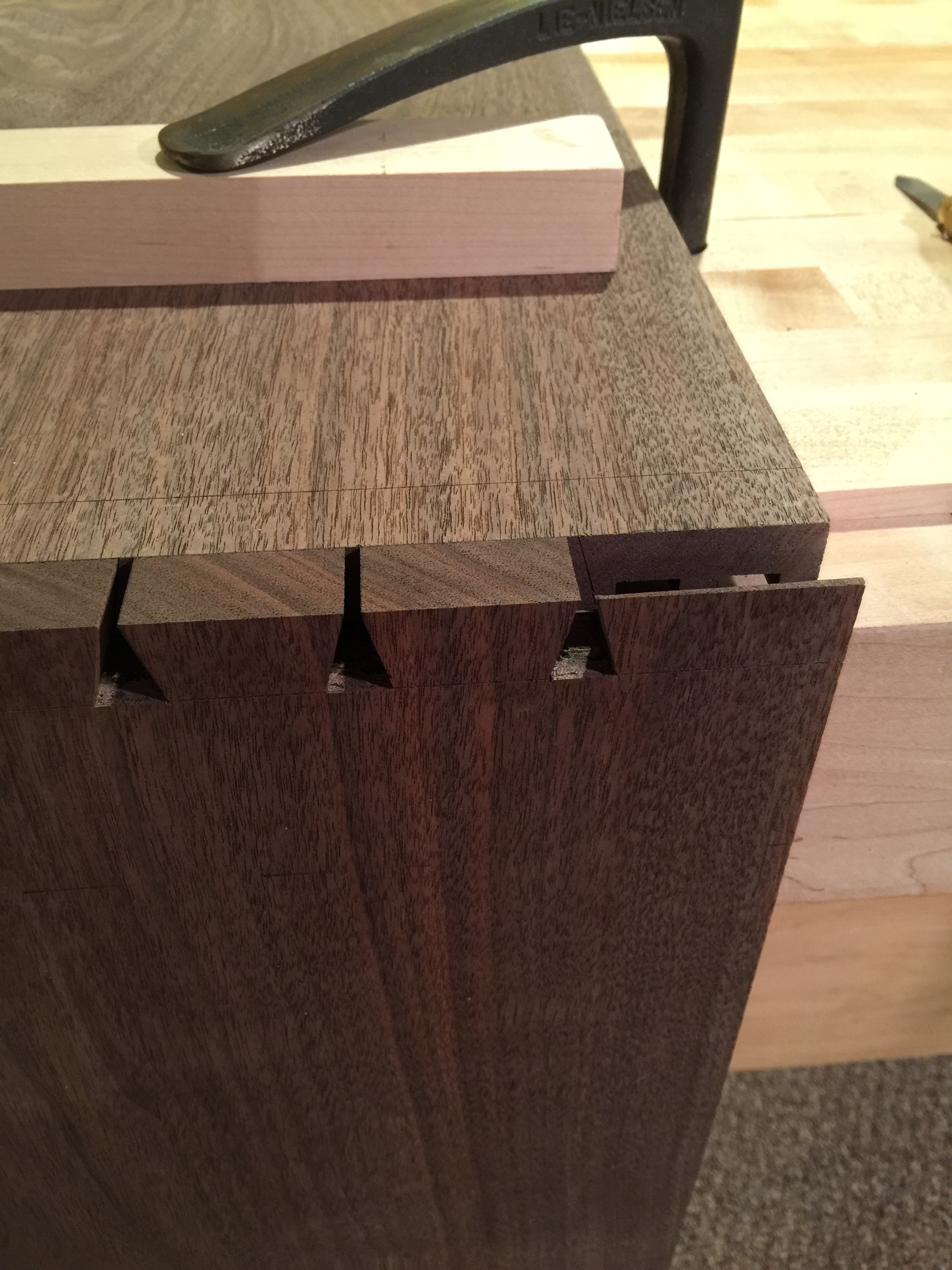 The Floating Credenza   Dovetails