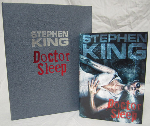 Doctor Sleep by Stephen King Lettered Edition