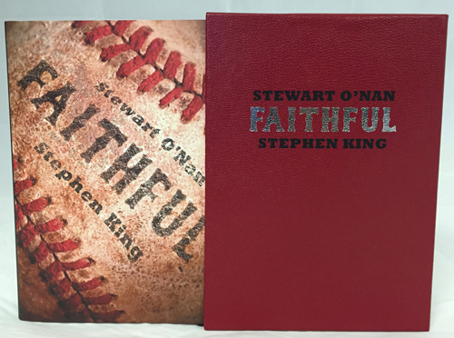 Faithful Stephen King Stewart O'Nan Gift Edition