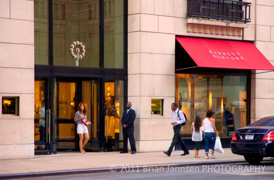 Barney's Shopping 5th Avenue Midtown Manhattan New York City