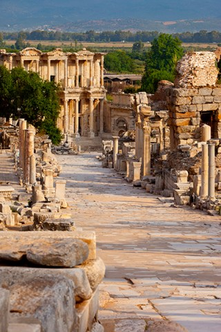 Street of Curetes Ephesus Turkey ruins