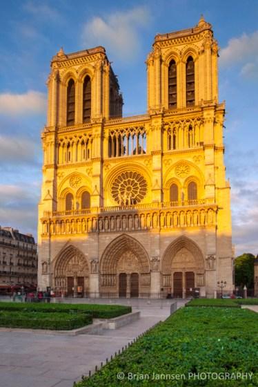Cathedral Notre Dame Paris France