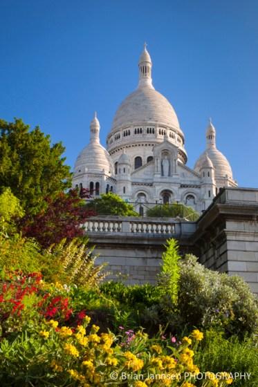 Basilique du Sacre Coeur Montmartre Paris France