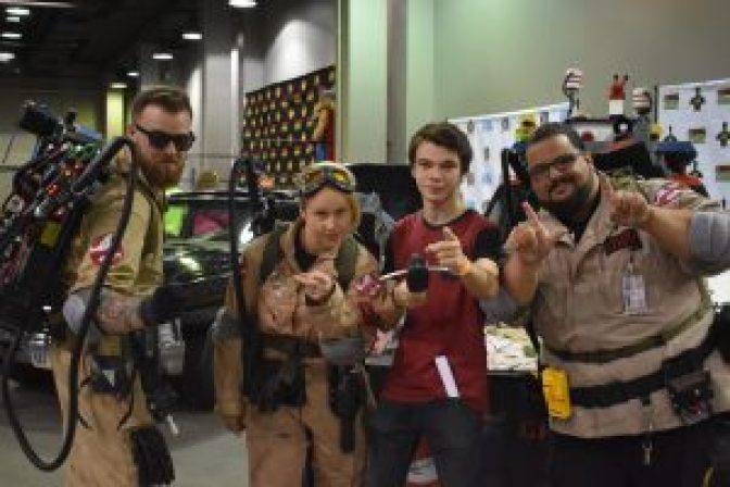 Ghostbusters Eternal Con 2017