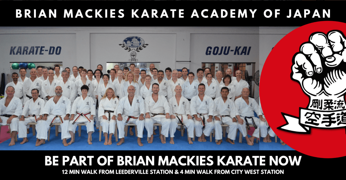 Brian Mackies Karate Perth