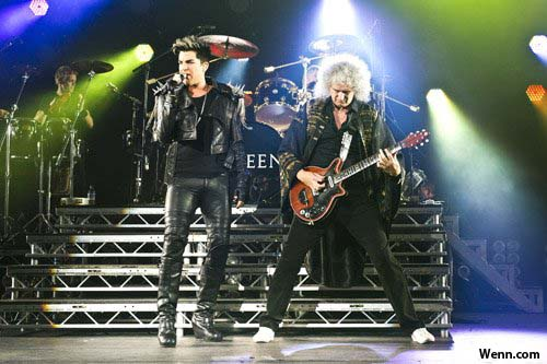 Adam Lambert with Queen - Hammersmith 11 July 2012