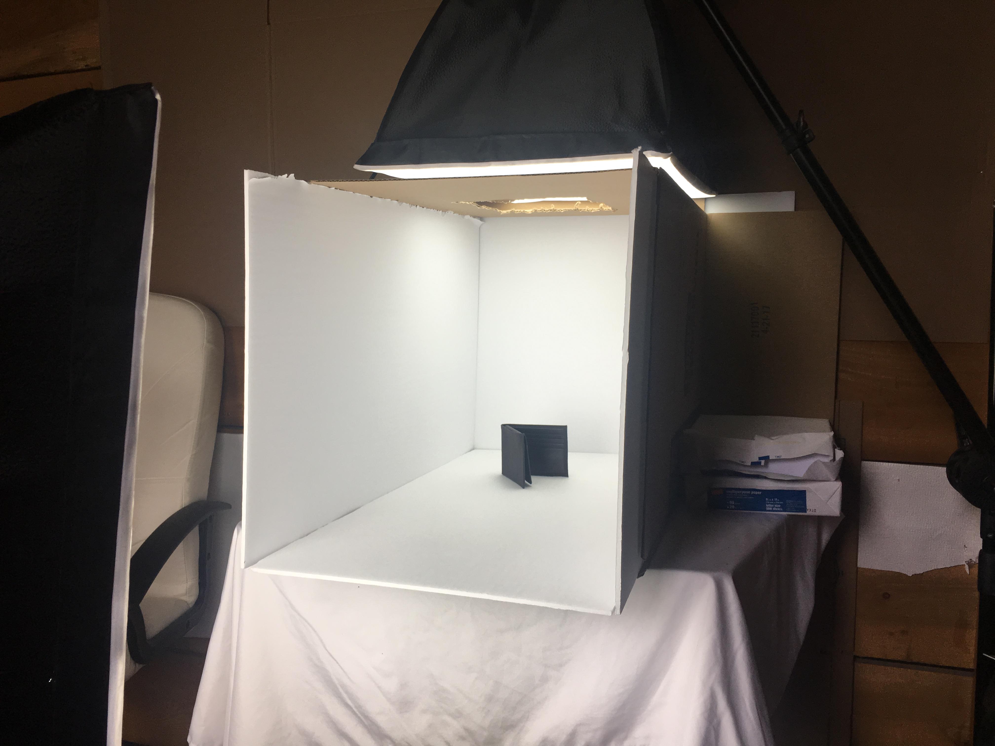 DIY White Studio Product Photography Box 6