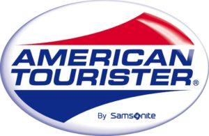 American Tourister Samsonsite luggage logo