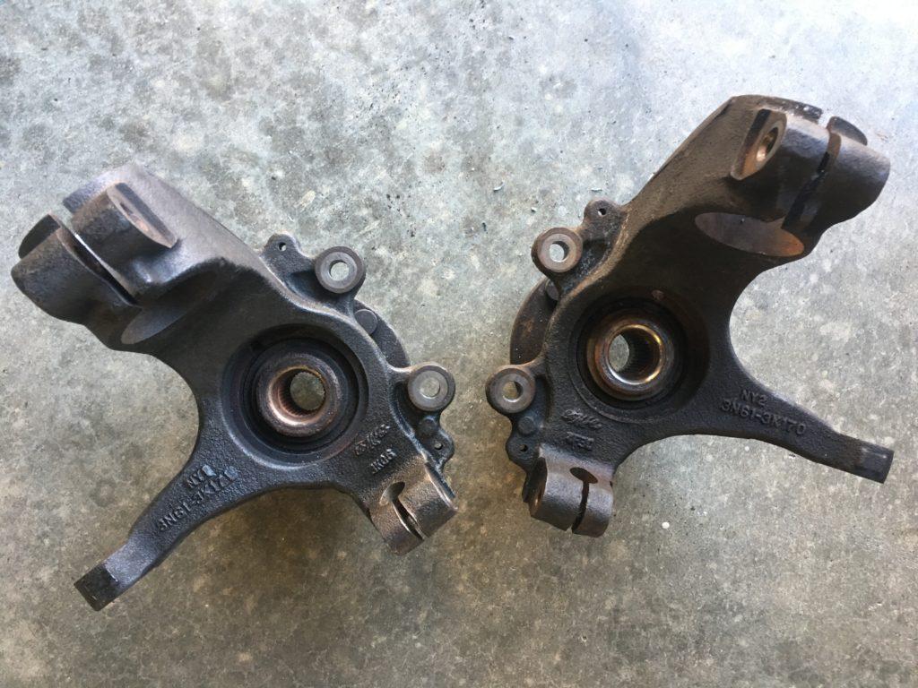 2004 mazda 3 wheel bearings