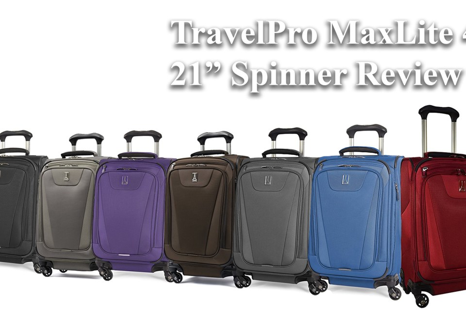 "TravelPRo MaxLite 4 21"" Inch Spinner Review"