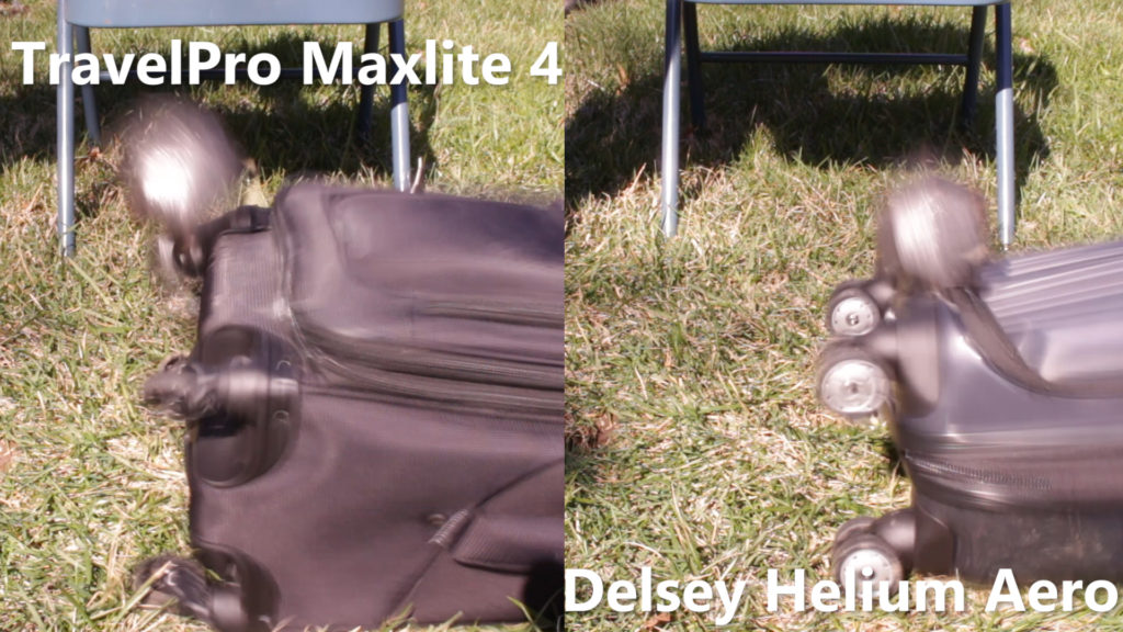 TravelPro and Delsey Carry-on Wheels