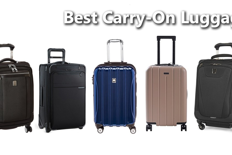 The 6 Best Carry Ons To Make Travel Easy Brian M Fischer