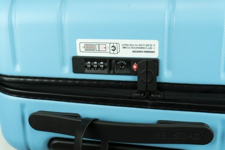 Chester Travel Luggage TSA Approved Lock