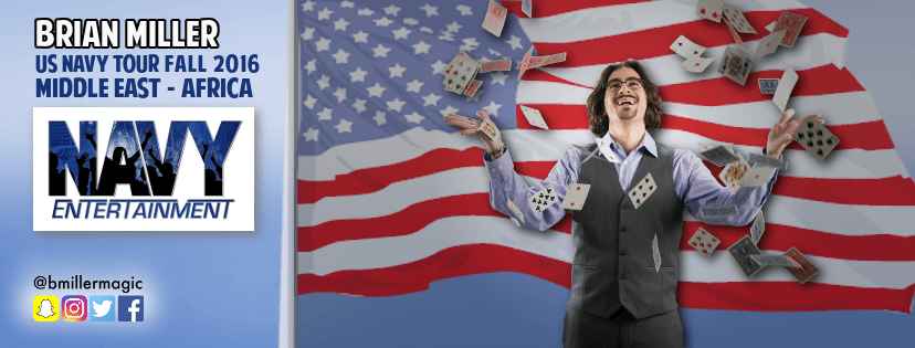 Connecticut Magician to Entertain American Troops in Middle East & Africa