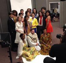 Our Models Backstage