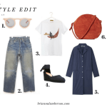 Weekly Style Edit #001  – How To Style Vintage Levis
