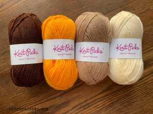 Crochet Sunflower Blanket IMG 2