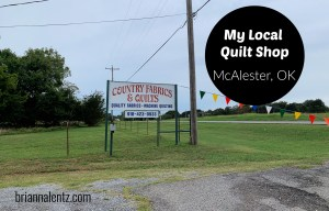 Featured Image for My Local Quilt Shop in McAlester Oklahoma