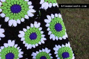 Beetlejuice Granny Square Photo 3