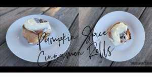 Pumpkin Spice Cinnamon Rolls IMG 6