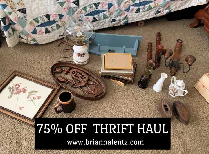 That One Time One of My Favorite Thrift Stores Had a 75% Off Sale